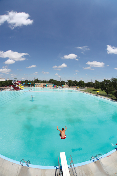 8 Wonders Of Kansas Customs Swimming In The Summer Garden City