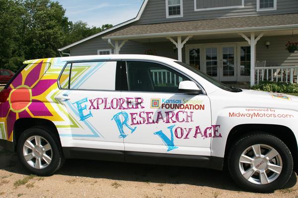 Support erv explorer research voyage for Midway motors mcpherson kansas