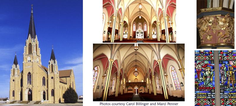 holy cross church  pfeifer