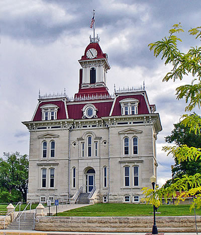 Chase County Courthouse Cottonwood Falls 8 Wonders Of