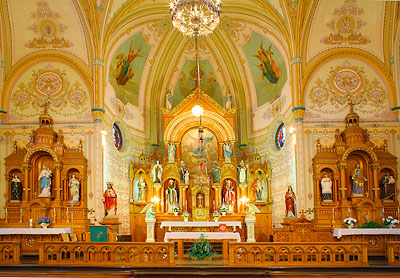 St Mary S Catholic Church St Benedict 8 Wonders Of Kansas
