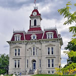 Chase County Courthouse, Cottonwood Falls